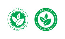 Organic Ingredients Green Leaf...