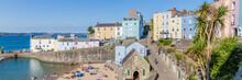 Panoroma Of Tenby On A Hot Sum...