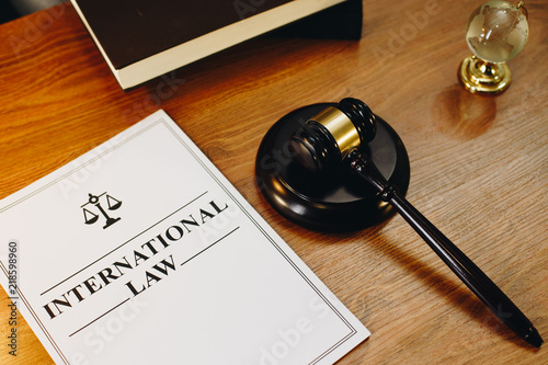 International Law Legal Documents With Gavel At The Side Buy This - Find legal documents