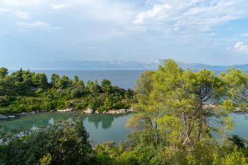 Fototapeta na wymiar Beautiful landscape in Croatia.