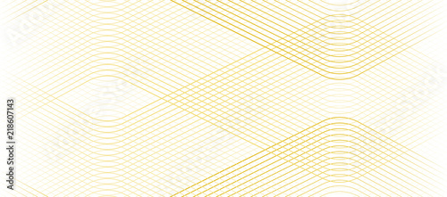 Obraz Vector Illustration of the gold pattern of lines abstract background. EPS10. - fototapety do salonu