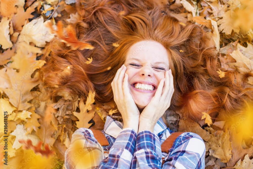 Photo  autumn beauty