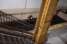 Sculpture Worker New York Subway