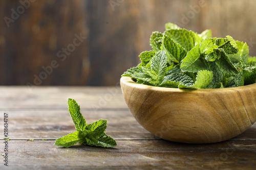 Obraz mint place for text - fototapety do salonu