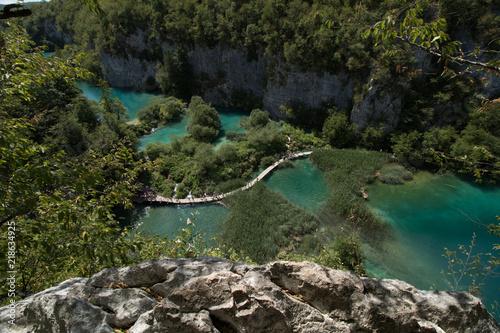 Chowacja jeziora Fototapeta