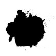 Vector drops of paint and stains, ink blots