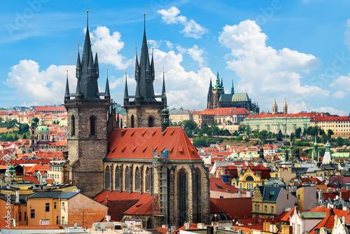 Obraz Katedry w Pradze, Czechy - fototapety do salonu