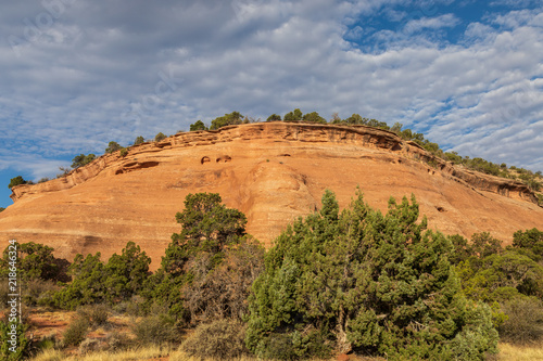 Scenic Colorado National Monument Landscape