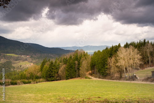 Fotografie, Obraz  Tal des Regens