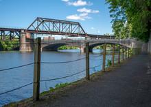 Bicycle Trail Lehigh River Eas...