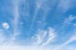 Leinwandbild Motiv blue sky with cloud