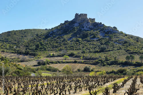 Photo  Chateau d'Aguilar in France