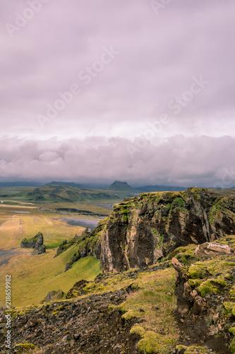 Foto op Aluminium Lichtroze Landscape - 016