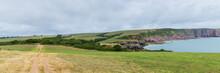 Barafundle Bay On The Pembroke...