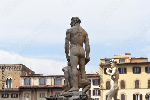 Foto  Ercole e Caco - David - Firenze