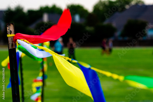 Flag Sky Kite Wind Blue Symbol Red Flying National White