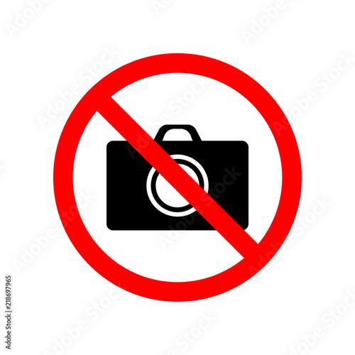Fotografía  prohibited photograph icon