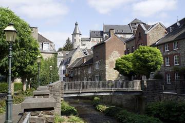 Fototapeta na wymiar historische Altstadt Stolberg