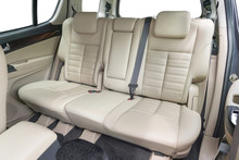 Folding Seats And A Cargo Space Inside Suv Automibile