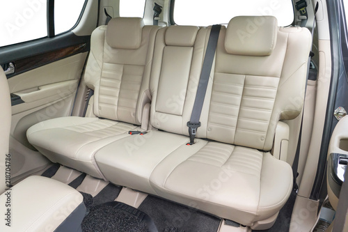 Cuadros en Lienzo Folding seats and a cargo space inside suv automibile