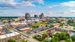 canvas print picture Downtown Greensboro, North Carolina, USA Skyline