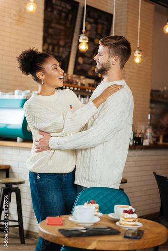 Photo  Hugging boyfriend