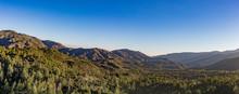 Mountain Range In Angeles Nati...
