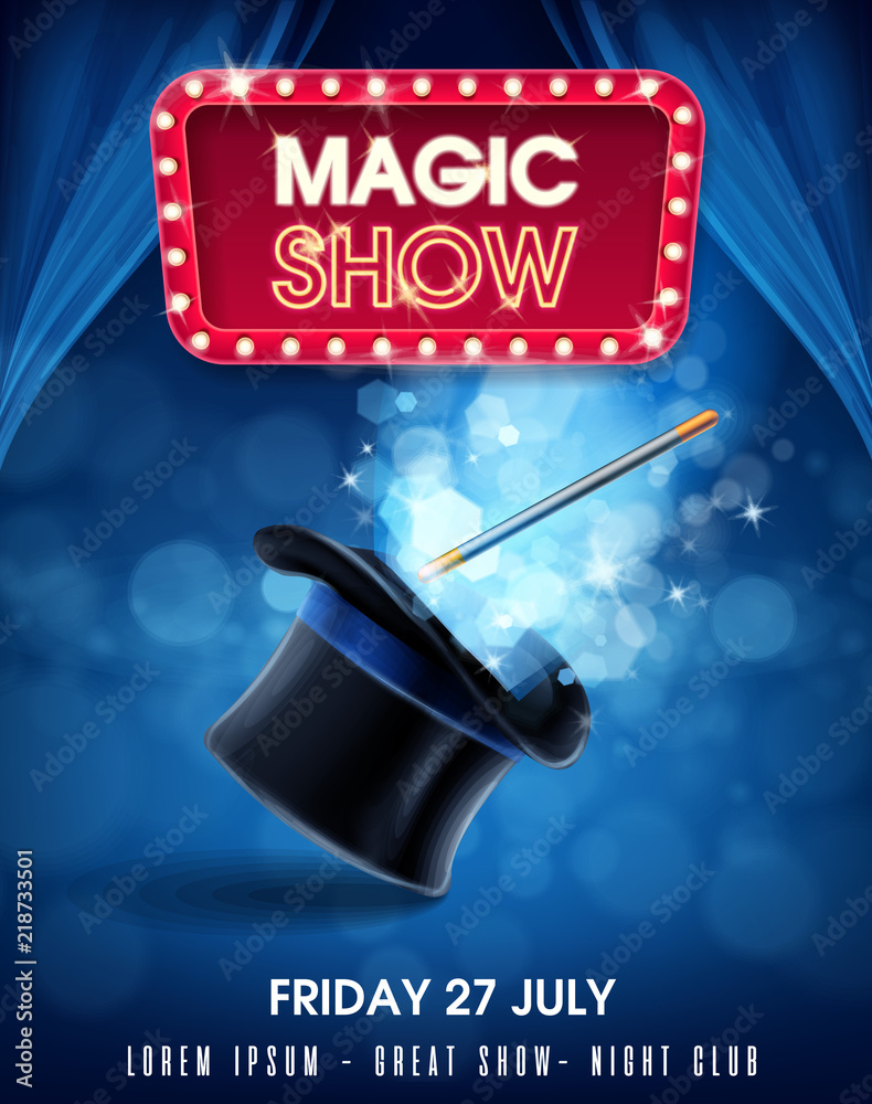 Fototapeta magic show