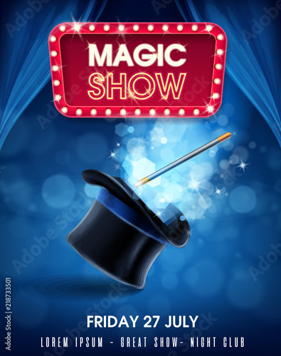 magic show Fotobehang