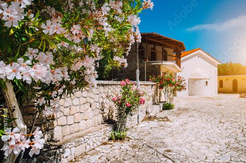 Fototapety, obrazy: Monastery of Kipoureon Landmark on Kefalonia island, Greece