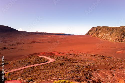 Fotografie, Obraz  Piton de la Fournaise volcano, Reunion island, France