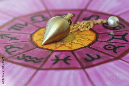 Pendulum on a zodiac
