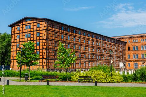 Obraz Architektura Wyspy Młyńskiej w Bydgoszczy - fototapety do salonu