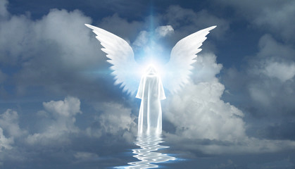 White Monk and Angel Star