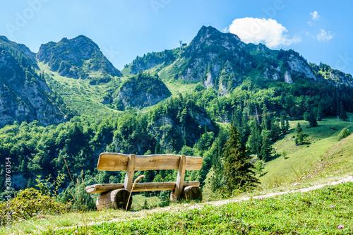 Foto auf AluDibond Gebirge hochfelln mountain