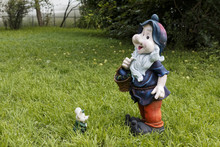 Plaster Sculpture Of The Gnome