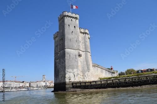 Fotografie, Obraz  Tour Saint-Nicolas à La Rochelle