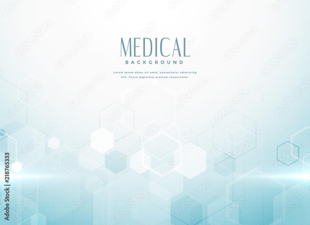 Fototapeta abstract medical science background concept