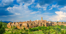 Panorama Of The Medieval Town ...