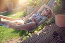 Summertime: Girl Chilling In T...