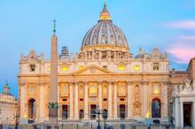 St. Peter's Basilica, Vatican ...