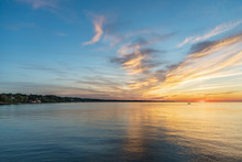 Beautiful Sunset On Lake Ontar...