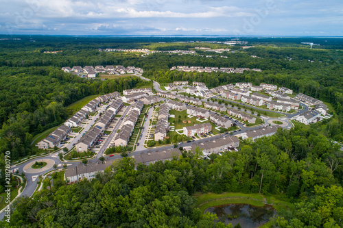 Photo Residential neighborhood Aberdeen Maryland USA