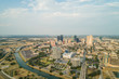 Aerial photo Downtown Fort Worth Texas USA
