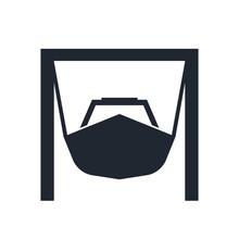 Boatyard Vector Icon