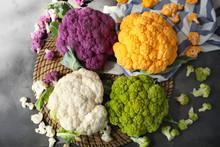 Different Cauliflower Cabbages...