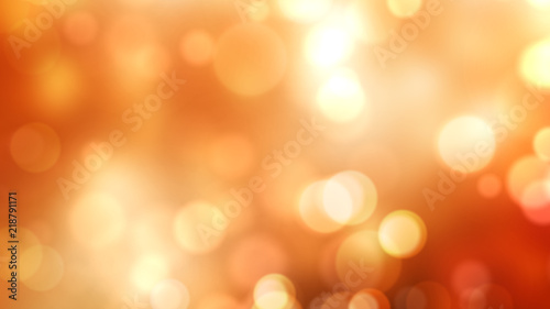 Foto op Aluminium Oranje Abstract Bokeh Lights With Colorful Background