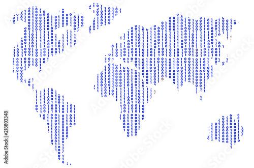 Plakaty kula ziemska - drukowane na wymiar 0-10010-mapa-swiata