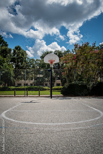фотографія  Outdoor Basketball Court