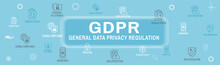 GDPR And Privacy Policy Web Ba...
